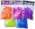 Набор для плетения Shantou Gepai Фиолетовые резиночки от 4 лет 200 шт 63997