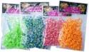 Набор для плетения Shantou Gepai оранжево-желтые резиночки от 8 лет 200 шт 63998