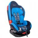 Автокресло Baby Care BC-02 Люкс Леопардик (синий)