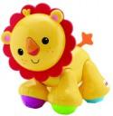 Интерактивная игрушка Fisher Price Подвижная игрушка Львенок от 6 месяцев жёлтый CGG86/CDC10