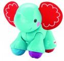 Интерактивная игрушка Fisher Price Подвижные игрушки Слоненок от 6 месяцев разноцветный CGG86/CGC82