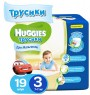 Трусики Huggies 3 для мальчиков 7-11 кг 19 шт.