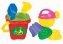 Песочный набор Полесье №157 8 предметов 4481 фиолетовый