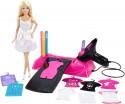 Игровой набор Mattel дизайн-студия для создания цветных нарядов с куклой Barbie CMM85