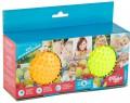 Набор Пик'нМикс из 2-х малых мячей желтый/оранжевый 12 см 113001