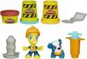 Набор для творчества Play-Doh Город PD Житель и питомец Road worker и щенок от 3 лет B5972