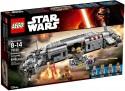 Конструктор Lego Star Wars Военный транспорт Сопротивления 646 элементов 75140