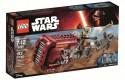 Конструктор Lego Star Wars: Спидер Рей 193 элемента 75099