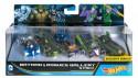 Набор машинок Mattel Hot Wheels Бэтмен против Супермена 5 предметов DJP11