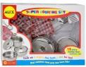 Набор посуды Alex Супер кулинар 12 предметов металлическая 603N