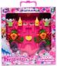Игровой набор 1Toy Красотка замок для кукол Земляничка 29 предметов Т56584