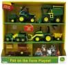 """Игровой набор Tomy John Deere """"Веселая Ферма"""" 20 предметов 2945"""