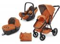 Коляска 3-в-1 Concord Wanderer Travel Set (rusty orange)