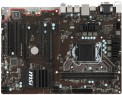 Мат. плата для ПК MSI H110 PC MATE Socket 1151 H110 2xDDR4 2xPCI-E 16x 3xPCI 2xPCI-E 1x 4xSATAIII ATX