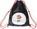 Мешок-рюкзак RichToys на самокат и велосипед - Снежный Барс черный складной