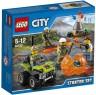 """Конструктор Lego City """"Набор для начинающих"""" - Исследователи Вулканов 83 элемента 60120"""
