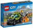 Конструктор Lego City - Грузовик исследователей вулканов 175 элементов