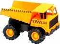 Самосвал Soma строительная техника Карьерный грузовик желтый 18 см