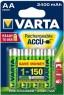Аккумуляторы Varta R2U 2400 mAh AA 4 шт