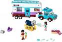 Конструктор Lego Подружки Ветеринарная машина для лошадок 370 элементов