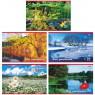 Альбом для рисования Хатбер РУССКИЕ ПРОСТОРЫ A4 24 листа 24А4В/РП в ассортименте 24А4В/РП