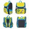 Ранец с рельефной спинкой Action! DRAGONS желтый синий DR-ASB5000/1 DR-ASB5000/1
