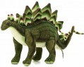 Мягкая игрушка снеговик Hansa Стегозавр искусственный мех синтепон зеленый 42 см 6133