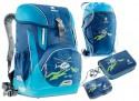 Школьный рюкзак с наполнением Deuter OneTwo 20 л синий 3830116-3036/SET2