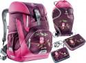 Школьный рюкзак с наполнением Deuter OneTwo 20 л фиолетовый 3830116-5509/SET2