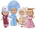 Кукла Simba Маша в наряде 12 см в ассортименте
