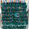 Гирлянда электрическая, 140 ламп, прозрачная, цветная, 8 + 1,5 м N11008