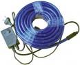 Гирлянда электр. дюралайт, 3 жилы, синий, круглое сечение, диаметр 13 мм, 9м, 216 ламп, с контрол N11103