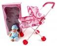 Кукла Shantou Gepai Младенец в коляске 20 см 35808