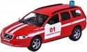 Машина Пламенный мотор 1:32 Volvo V70 Пожарная охрана красный 16 см