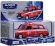 Автомобиль Autotime ЛАДА 2104 Пожарная охрана красный 3315386