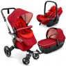 Коляска 3-в-1  Concord Neo Travel Set (tomato red)