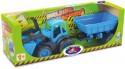 Трактор ZEBRATOYS 4660019430135 синий 55,5 см
