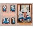 Набор мягких игрушек заяц Волшебный мир Проша Зайчик текстиль плюш белый 57 см 4607141061400
