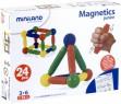 Магнитный конструктор Miniland Magnetics Junior 24 элемента 94109