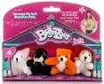 """Игровой набор Beanzeez """"Мышка, Котик, Медведь, Песик"""" 4 предмета"""