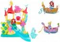 Игровой набор Hasbro Disney Princess Замок Ариель для игры с водой B5836 + маленькая кукла Принцесса и лодка B5338