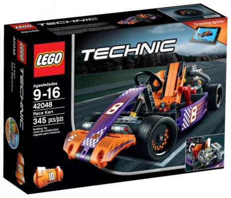 Конструктор Lego Техник Гоночный карт 345 элементов 42048 от 123.ru