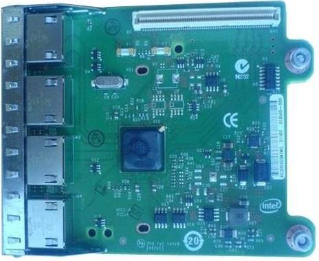 Адаптер Dell Intel Ethernet i350 1Gb 4P 540-BBHF от 123.ru
