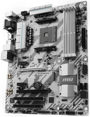 Фото Мат. плата для ПК MSI B350 TOMAHAWK ARCTIC Socket AM4 AMD B350 4xDDR4 2xPCI-E 16x 2xPCI 2xPCI-E 1x 4xSATAIII ATX Retail. Купить в РФ