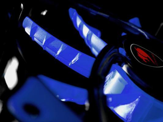 Вентилятор COUGAR CF-D12HB-B 120x120x25мм 3pin 1200rpm синий от 123.ru