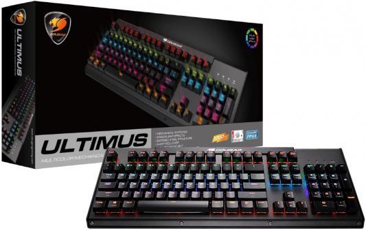 Клавиатура проводная Cougar Ultimus USB черный от 123.ru