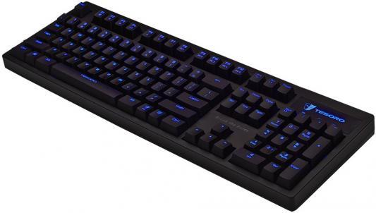 Фото Клавиатура проводная Tesoro Excalibur V2 USB черный. Купить в РФ