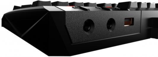 Клавиатура проводная GAMDIAS Hermes Ultimate red-switch USB черный GKB2010 от 123.ru