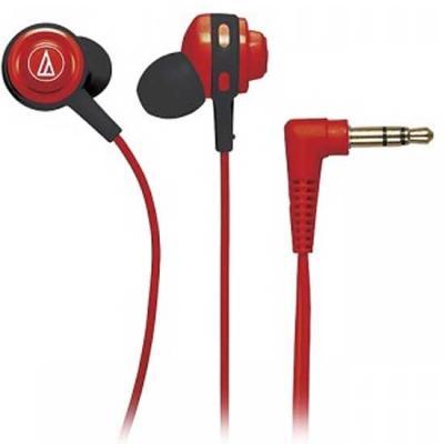Наушники Audio-Technica ATH-COR150 RD красный наушники audio technica ath pro5mk3 black