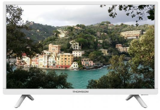 Телевизор Thomson T24E20DH-01W белый телевизор 24 thomson t24e20dh 01w белый 1366x768 hdmi vga scart usb